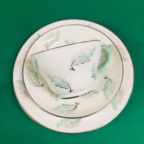 Wedgwood - Bone China - Leaf Trio - S243